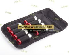 APS CAM870 Co2 Cartridge 8pcs with Bullet Pouch